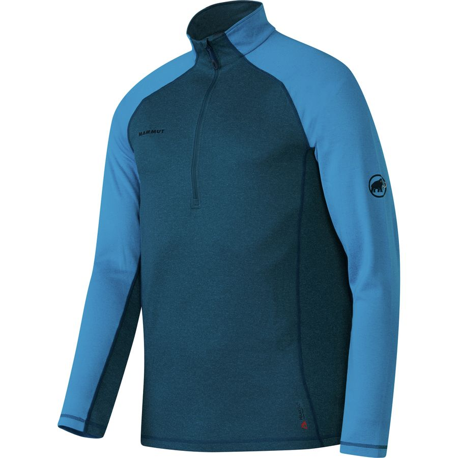 Mammut Trovat Pro Half-Zip Top - Men's Orion Atlantic アウトドア メンズ 男性用 ロングアンダーウェア Long Underwear