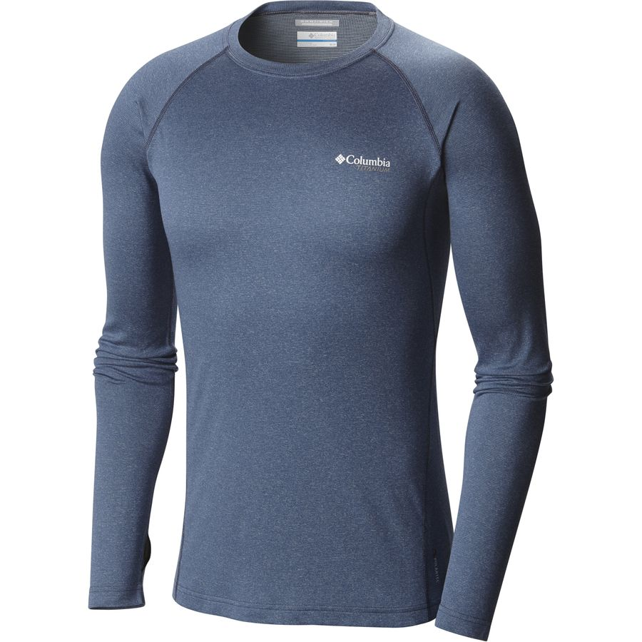 Columbia Arctic Trek Baselayer - Men's Night Tide Heather アウトドア メンズ 男性用 ロングアンダーウェア Long Underwear