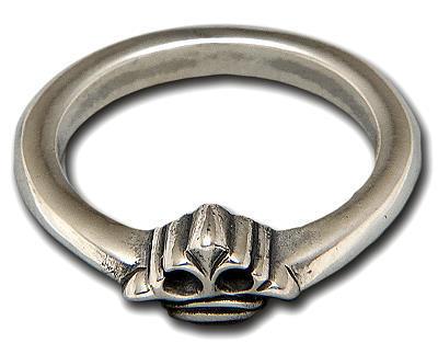 ビルウォールレザー BWL Bill Wall Leather R341CROWN X-スモール クラウンリング 指輪 シルバー カスタム ハンドクラフト