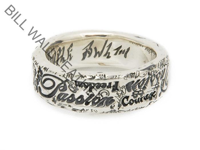ビルウォールレザー BWL Bill Wall Leather ハンドクラフト R380 R380 パッション グラフィティリング 指輪 指輪 シルバー カスタム ハンドクラフト, アキル野市:1792e382 --- integralved.hu