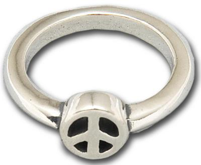 ビルウォールレザー BWL Bill Wall Leather R341PEACE X-スモール ピースリング 指輪 シルバー カスタム ハンドクラフト