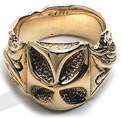 ビルウォールレザー Bill BWL 指輪 Bill Wall ハンドクラフト Leather R204G 18K ゴシッククロス リング 指輪 シルバー カスタム ハンドクラフト, キタカミマチ:9b17d9b9 --- gamenavi.club
