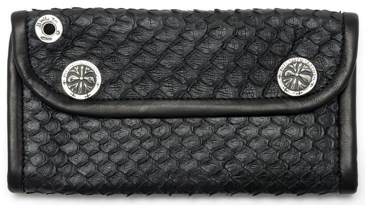 ビルウォールレザー BWL Bill Wall Leather Anaconda Snakeskin Wallet Bill Wall Fine Leather Hand Crafted Wallets