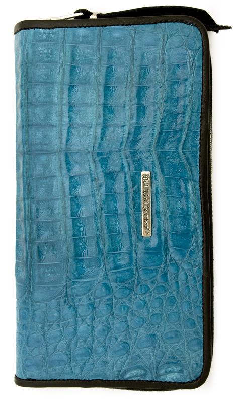 ビルウォールレザー BWL Bill Wall Leather W967- Zipper  Alligator Bill Wall Fine Leather Hand Crafted Wallets