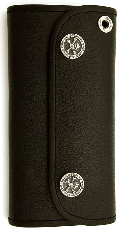 ビルウォールレザー BWL Bill Wall Leather W969 ハイブリッド ラージ レザーウォレット 財布 シルバー カスタム ハンドクラフト