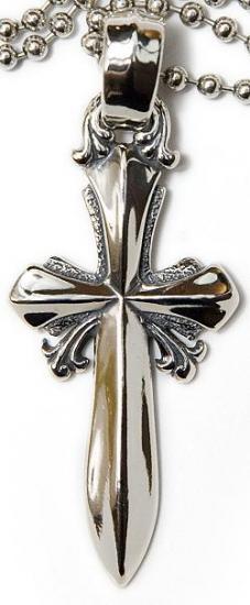 正規品 ビルウォールレザー BILL WALL LEATHER BWL ペンダント Saber Cross 剣 クロス Lサイズ