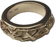 【ポイント5倍】正規品 ビルウォールレザー BILL WALL LEATHER BWL 指輪 リング 18k Lucky Cross リング