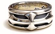 正規品 ビルウォールレザー BILL WALL LEATHER BWL リング 指輪 ビルウォールレザーSingle Cross リング