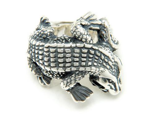 正規品 ビルウォールレザー BILL WALL LEATHER BWL リング 指輪 指輪 R403 - Medium Alligator リング
