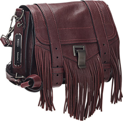 Proenza Schouler Fringed PS1 Pouch