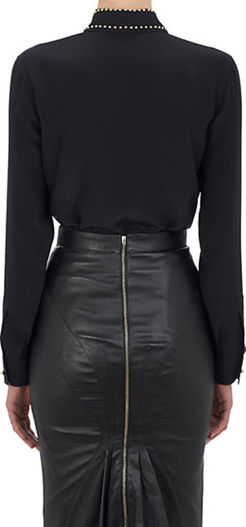 Givenchy Studded-Collar Blouse