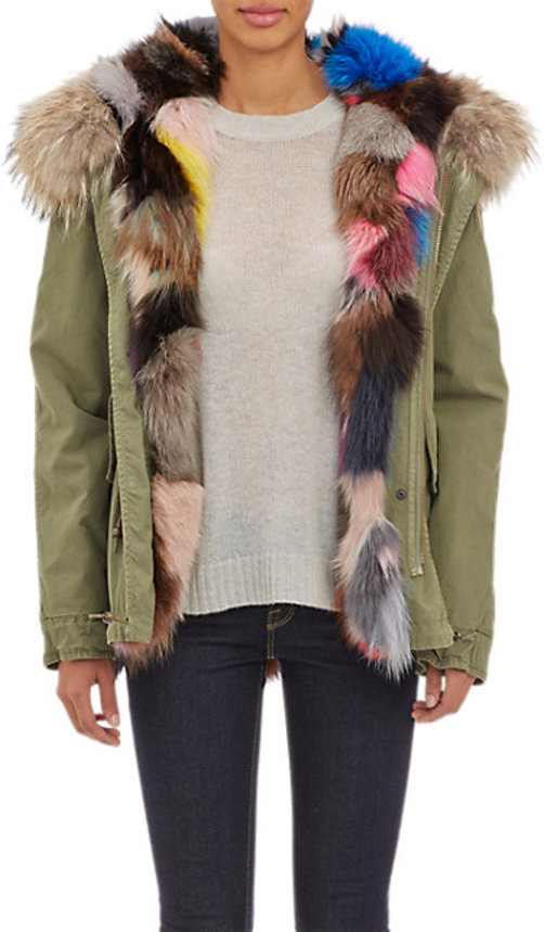 Mr. and Mrs. Italy Reversible Fur Parka
