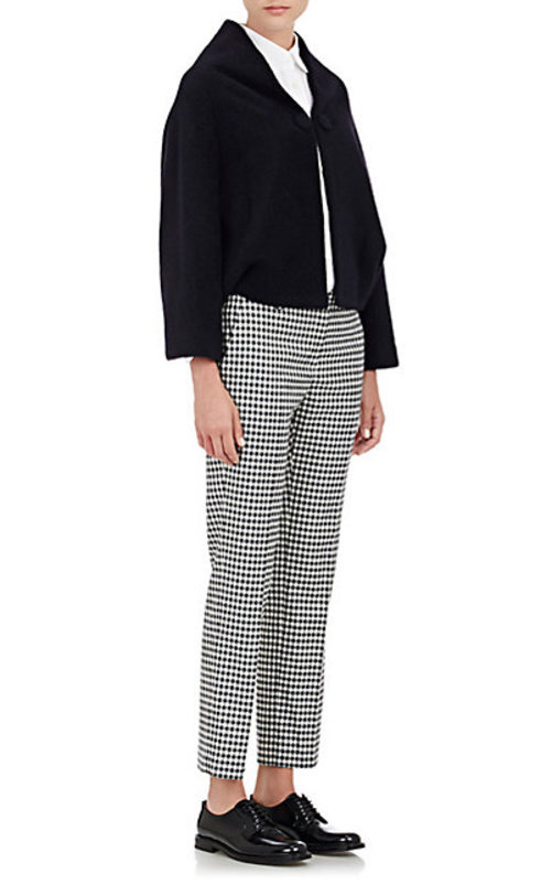 Tomorrowland Worsted Cropped Trousers