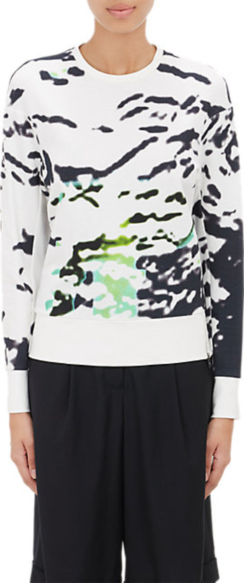 Tim Coppens Abstract French Terry Sweatshirt