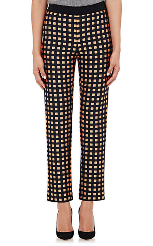 Cedric Charlier Checked Trousers