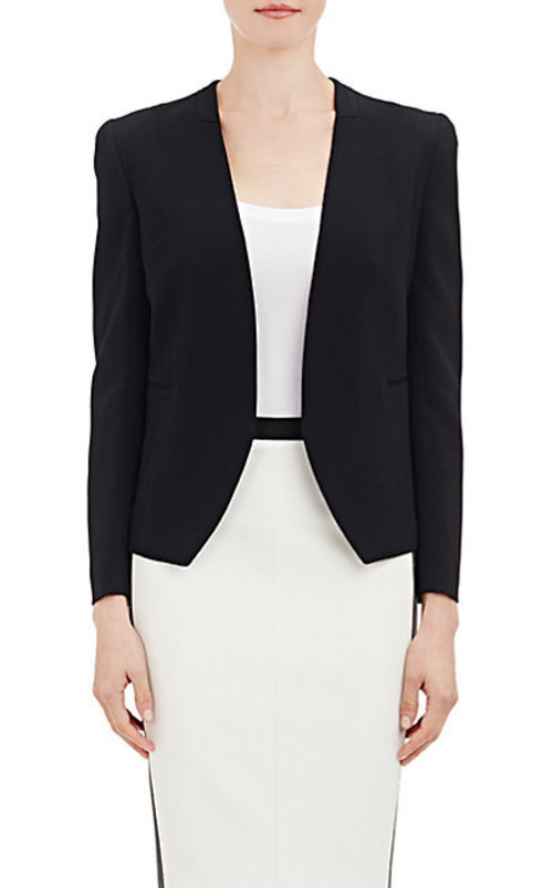 Narciso Rodriguez Cady Collarless Jacket