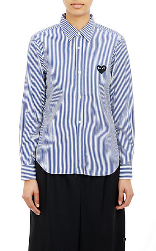 Comme des Garons PLAY Striped Shirt