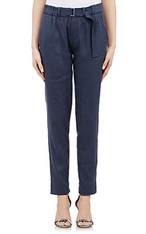 Vince. Belted Twill Pants