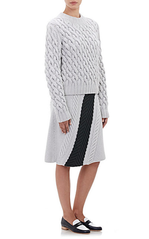 Orley Mixed-Stitch Skirt
