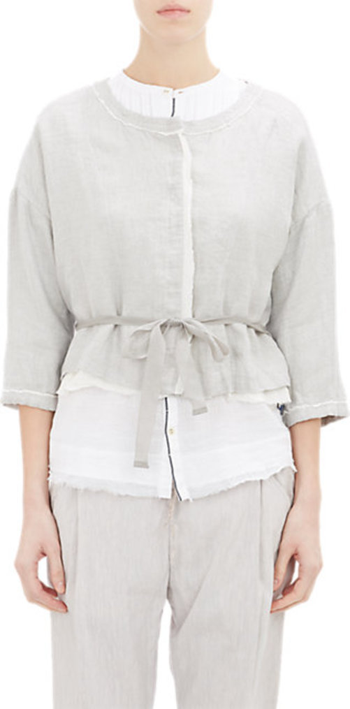 Pas de Calais Belted Crop Jacket
