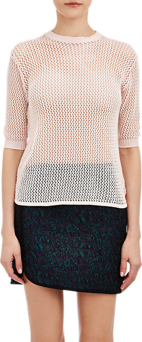 Alexander Lewis Open-Work Stitch Sweater