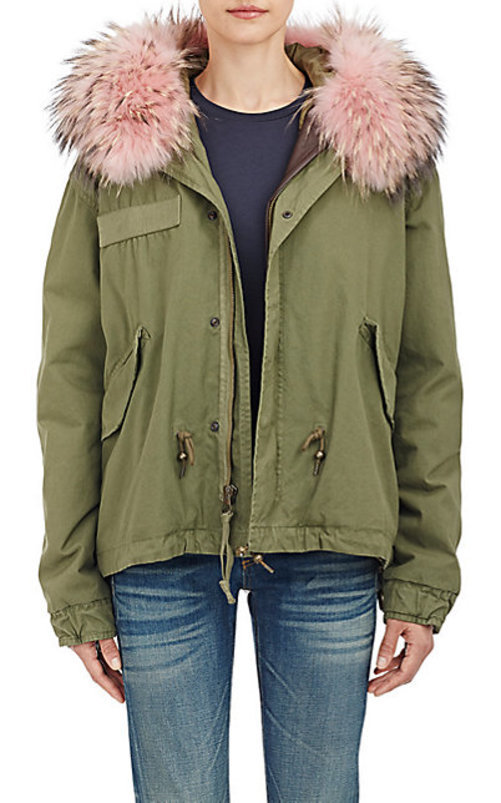 Mr. and Mrs. Italy Fur-Trimmed Parka