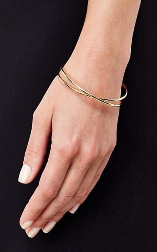 Maison Margiela Fine Twisted Bangle