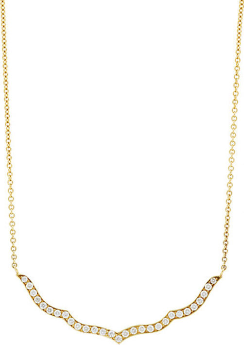 Sara Weinstock Taj Outline Pendant Necklace