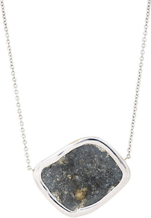 Monique Pan Atelier Diamond Slice Pendant Necklace