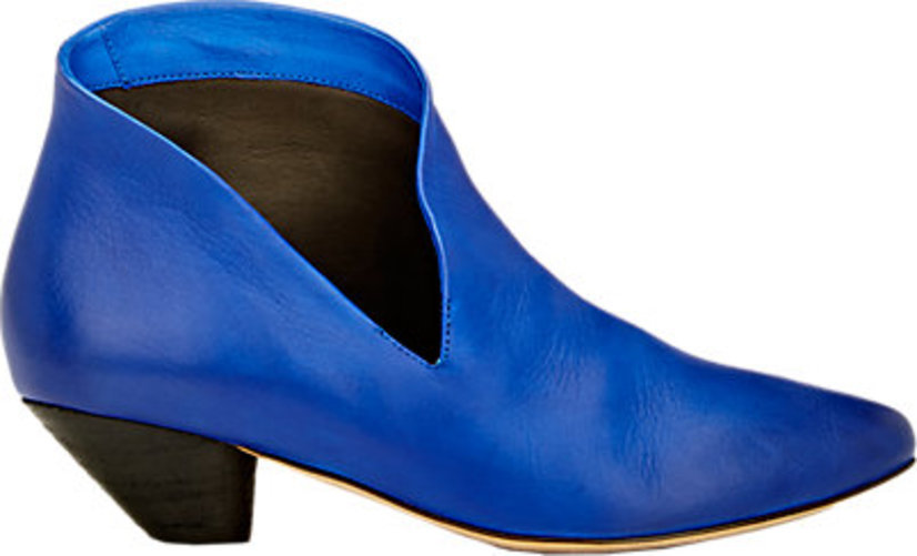 Marsll Cutout Ankle Boots