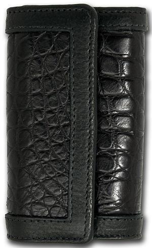 ビルウォールレザー BWL Bill Wall Leather KW105 アリゲーター レザー キーウォレット(キーホルダー) シルバー キーホルダー カスタム