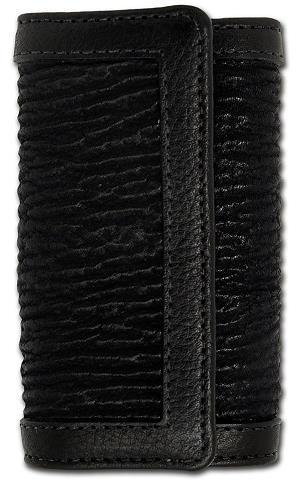 ビルウォールレザー BWL Bill Wall Leather KW101 シャーク レザー キーウォレット(キーホルダー) シルバー キーホルダー カスタム