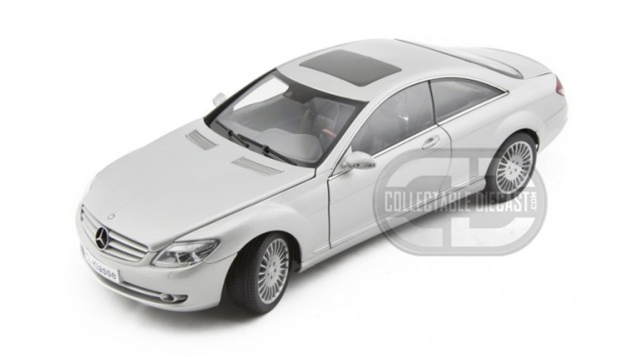 Mercedes-Benz CL Coupe 2006 1 18 Silver - AUTOart Diecast Models おもちゃ 模型 ラジコン フィギュア