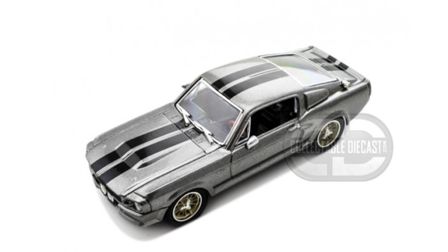 Greenlight 1 43 Ford Mustang GT500E 1967 Eleanor - Gone in 60 Seconds (2000) Gray おもちゃ 模型 ラジコン フィギュア
