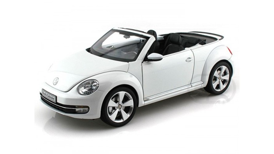 Kyosho Diecast - 2012 Volkswagen New Beetle Convertible 1 18 Oryx White おもちゃ 模型 ラジコン フィギュア