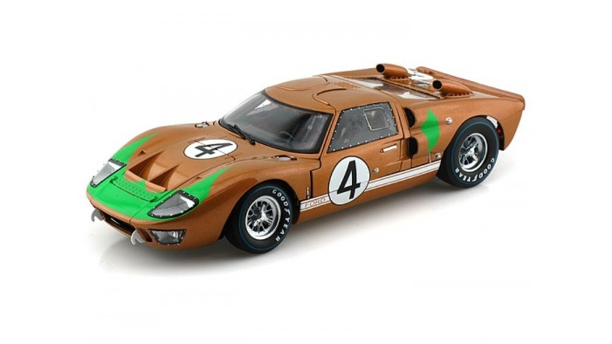 Shelby Collectibles 1966 Ford GT40 Mark II #4 1 18 Gold おもちゃ 模型 ラジコン フィギュア