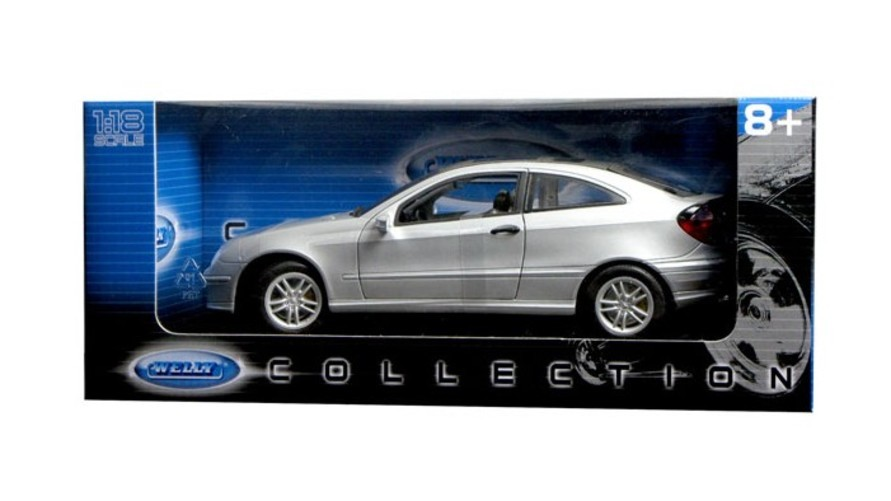 Welly 1 18 Mercedes Benz C Class Sport Coupe Silver おもちゃ 模型 ラジコン フィギュア