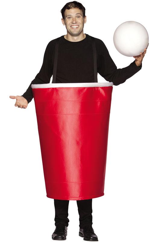 【ポイント最大29倍●お買い物マラソン限定!エントリー】Red Beer Pong Cup 大人用コスチューム ハロウィン コスプレ 衣装 仮装 大人用 面白い 食べ物 かぼちゃ 飲み物 学園祭 文化祭 学祭 大学祭 高校 イベント