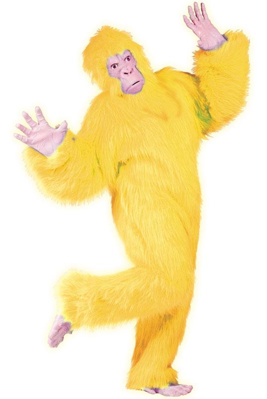 【本日1日P10倍】Yellow Gorilla 大人用コスチューム クリスマス ハロウィン コスプレ 衣装 仮装 大人用 面白い 学園祭 文化祭 学祭 大学祭 高校 イベント