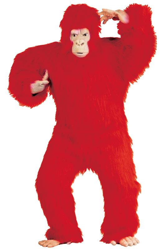 【マラソン全品P5倍】Red Gorilla 大人用コスチューム クリスマス ハロウィン コスプレ 衣装 仮装 大人用 面白い 学園祭 文化祭 学祭 大学祭 高校 イベント