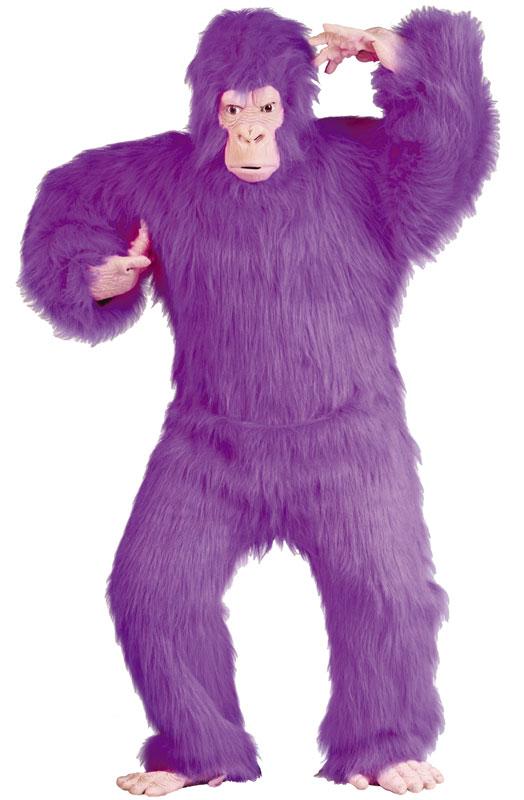 Purple Gorilla 大人用コスチューム ハロウィン コスプレ 衣装 仮装 大人用 面白い 学園祭 文化祭 学祭 大学祭 高校 イベント