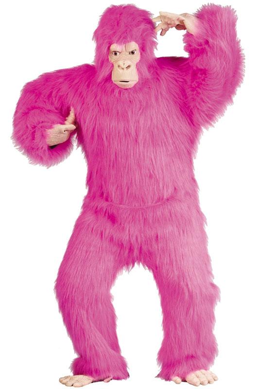 Pink Gorilla 大人用コスチューム ハロウィン コスプレ 衣装 仮装 大人用 面白い 学園祭 文化祭 学祭 大学祭 高校 イベント
