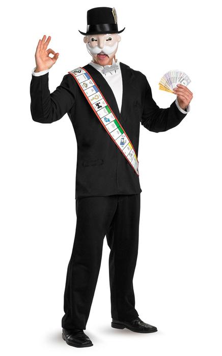 Monopoly デラックス 大人用コスチューム クリスマス ハロウィン コスプレ 衣装 仮装 大人用 面白い 学園祭 文化祭 学祭 大学祭 高校 イベント