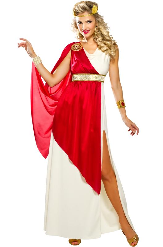Lady Caesar 大人用コスチューム クリスマス ハロウィン コスプレ 衣装 仮装 大人用 面白い ギリシャ 学園祭 文化祭 学祭 大学祭 高校 イベント