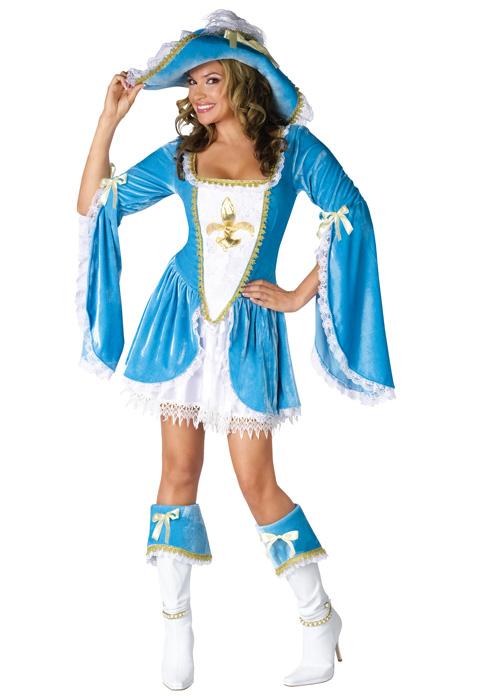 Madam Musketeer 大人用コスチューム ハロウィン コスプレ 衣装 仮装 大人用 面白い 学園祭 文化祭 学祭 大学祭 高校 イベント