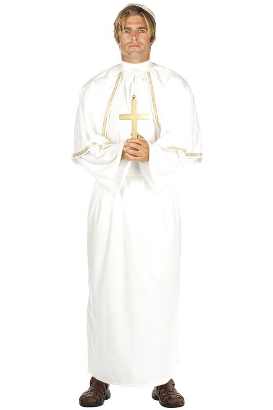 Pope 大人用コスチューム ハロウィン コスプレ 衣装 仮装 大人用 面白い 学園祭 文化祭 学祭 大学祭 高校 イベント