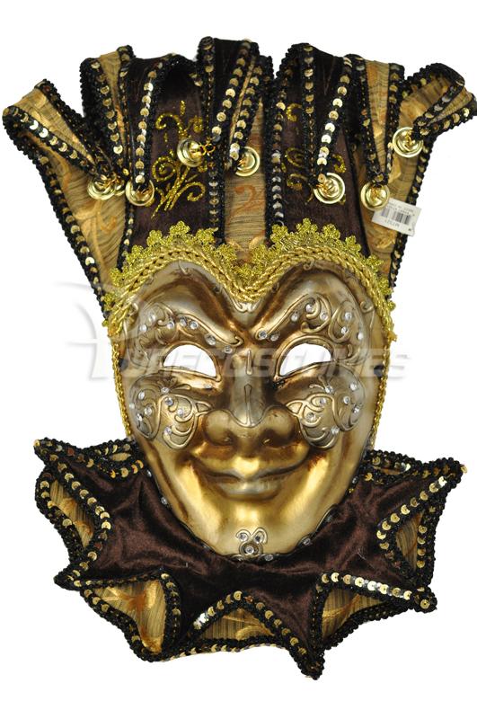 Majestic Jester 大学祭 Mask Mask (Brown) コスチューム Majestic ハロウィン コスプレ 衣装 仮装 大人用 面白い 学園祭 文化祭 学祭 大学祭 高校 イベント, 【税込】:693082e5 --- officewill.xsrv.jp