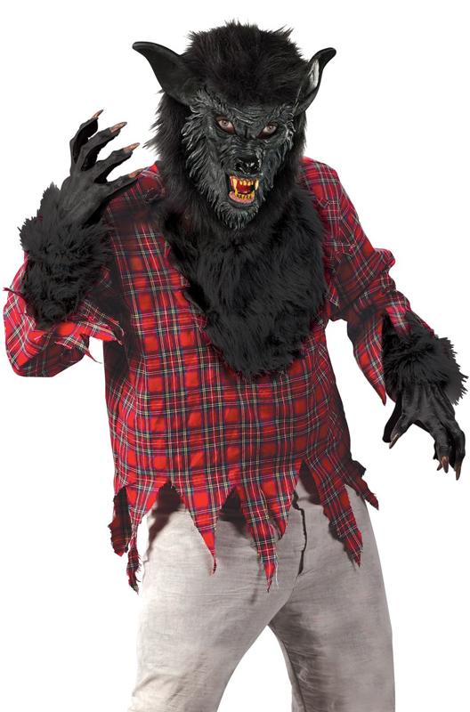 【ポイント最大29倍●お買い物マラソン限定!エントリー】Werewolf 大人用コスチューム ハロウィン コスプレ 衣装 仮装 大人用 面白い ホラー 怖い 学園祭 文化祭 学祭 大学祭 高校 イベント