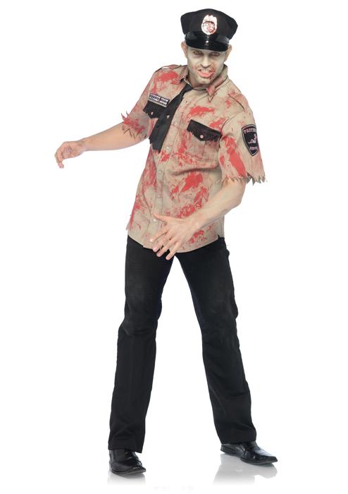 【ポイント最大29倍●お買い物マラソン限定!エントリー】Deputy Dead Zombie 大人用コスチューム ハロウィン コスプレ 衣装 仮装 大人用 面白い ホラー 怖い 学園祭 文化祭 学祭 大学祭 高校 イベント