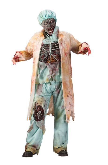 【ポイント最大29倍●お買い物マラソン限定!エントリー】Zombie Doctor 大人用コスチューム ハロウィン コスプレ 衣装 仮装 大人用 面白い ホラー 怖い 学園祭 文化祭 学祭 大学祭 高校 イベント